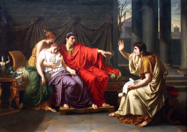 Virgil Reading the Aeneid