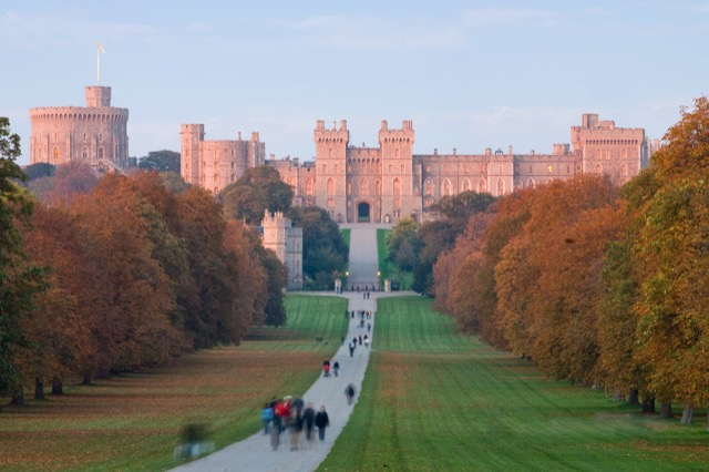 Windsor Castle where I will see famed Gobelins tapestry