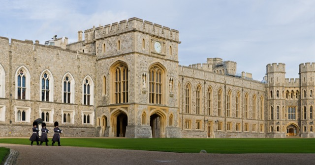 Windsor Castle Upper Ward Quadrangl